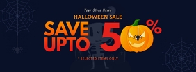 Halloween Sale Facebook Cover Photo template