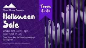 Halloween Sale Facebook Cover Video