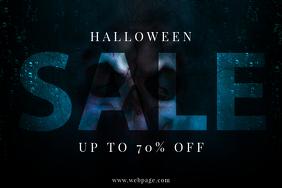 Halloween Sale Flyer Template