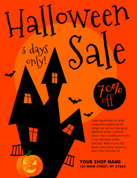 Customizable Design Templates for Halloween Sales | PosterMyWall