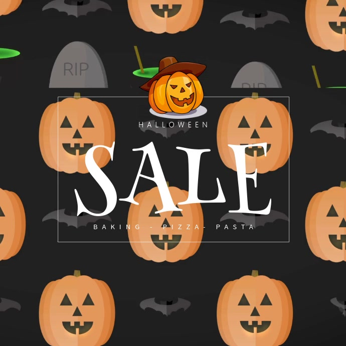 Halloween Sale Instagram Template | PosterMyWall