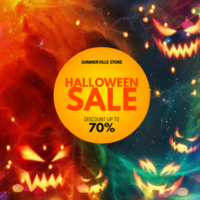Halloween Sale Instagram Post