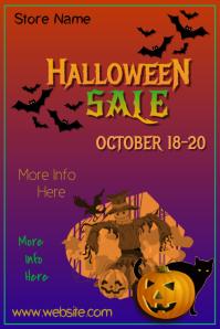 Halloween Sale Poster