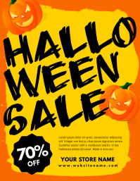 Halloween Sale Flyer