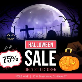 Halloween Sale Square Video