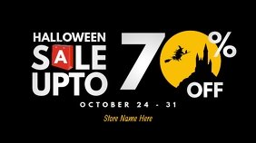 Halloween Sale Twitter Post