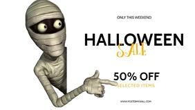 Halloween Sale Video Design Template