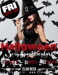 Halloween Sexy Spooktacular Flyer