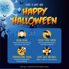 Halloween Shopping Guidelines Social Media Po Pos Instagram template