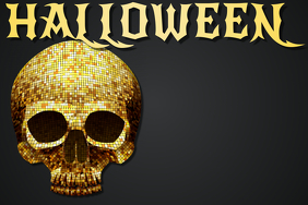 Halloween Skull Skeleton Music Party Disco Night Club Event