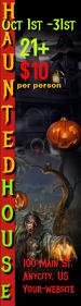 Halloween Skyscaper Template