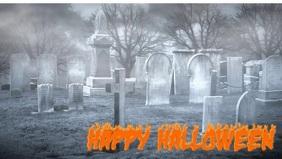 Halloween social media header
