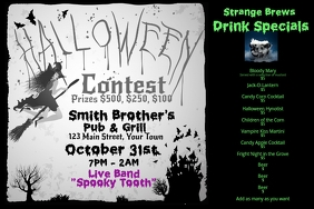 Halloween Specials Contest Advertisement