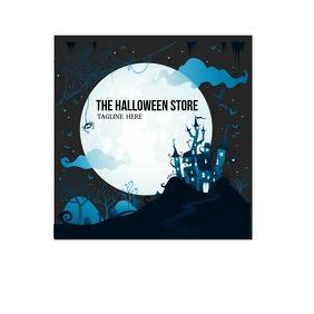 Halloween Store Logo 徽标 template