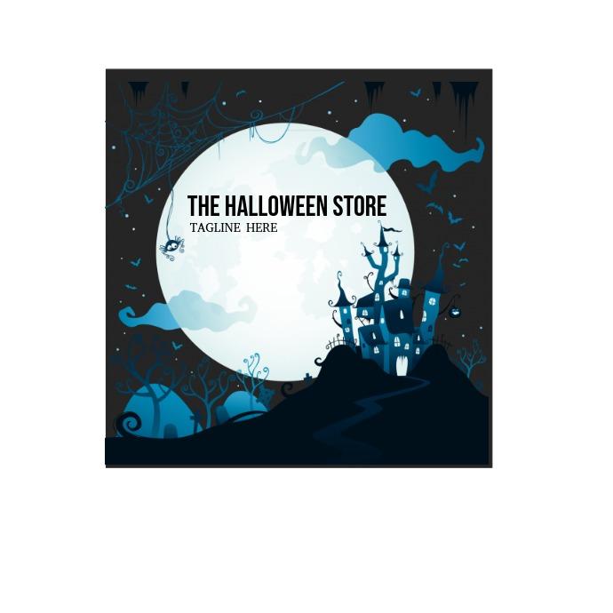 Halloween Store Logo