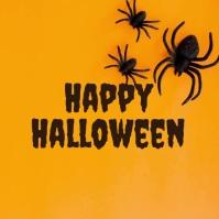 halloween template Instagram-Beitrag