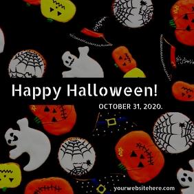 Halloween Template Instagram Post
