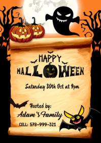 Halloween Template A4