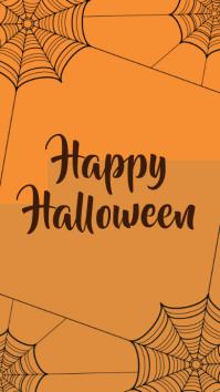 halloween template Instagram-verhaal