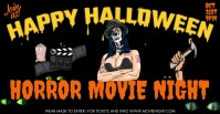 Halloween Template Facebook Group Cover Photo