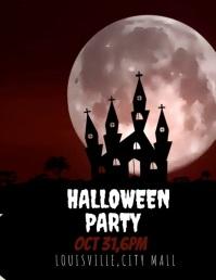 Halloween Template Flyer (US Letter)