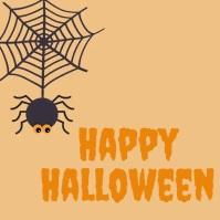 halloween template Сообщение Instagram