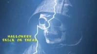 Halloween Trick or Treat Digital Display (16:9) template