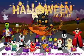 Halloween Trick Treat Kids Family Costume Candy School
