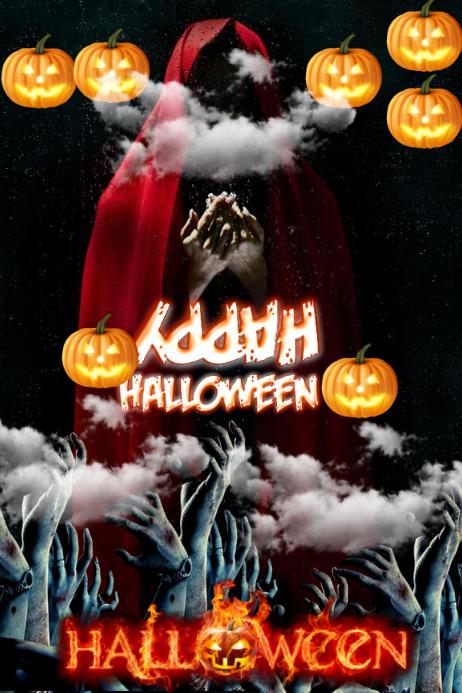 halloween twist Poster template