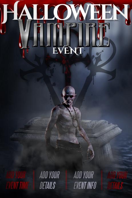 Halloween Vampire Haunted Spooky Cemetery Monster Costume