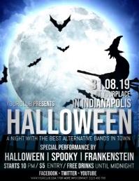halloween video, halloween, halloween flyer