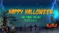 Halloween Video background Digitale display (16:9) template