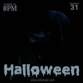 Halloween Video Flyer Template
