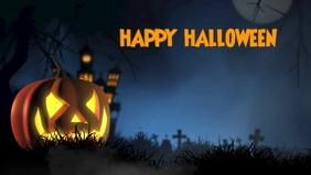 Halloween video graphics