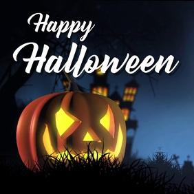 Halloween video greeting