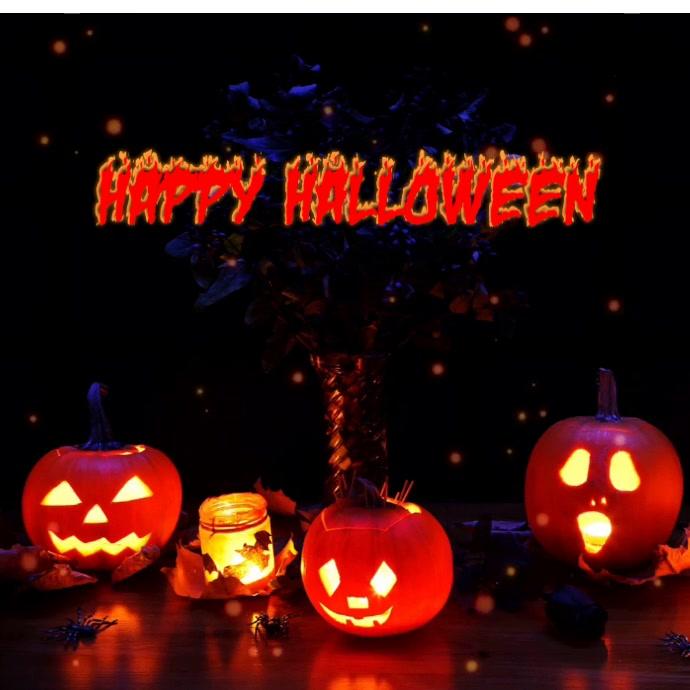 Halloween video square