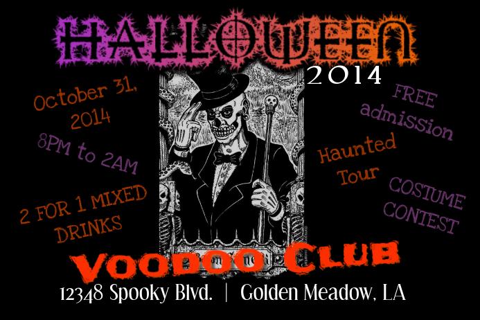 HALLOWEEN VOODOO Flyer