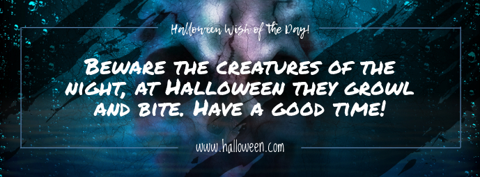 Halloween Wish Facebook Cover Photo