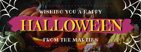Halloween Wish Facebook Header Template