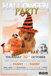 halloween29 Poster template