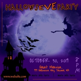 Hallows Eve Party Video