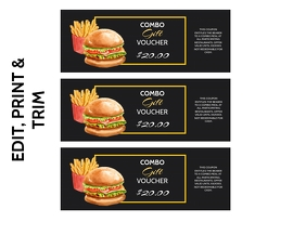 HAMBURGER VOUCHER