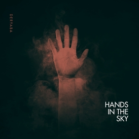 Hand in the Sky Clean Cd Cover Art Template