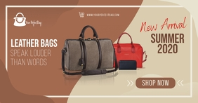 Handbag Retail Store Facebook Shop Cover template