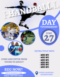 HANDBALL EVENT TOURNAMENT Flyer Template