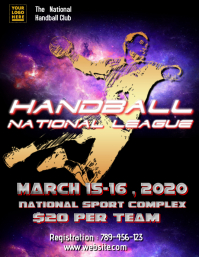 Handball Tournament Template