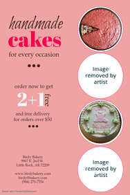 160+ Customizable Design Templates for Cakes | PosterMyWall