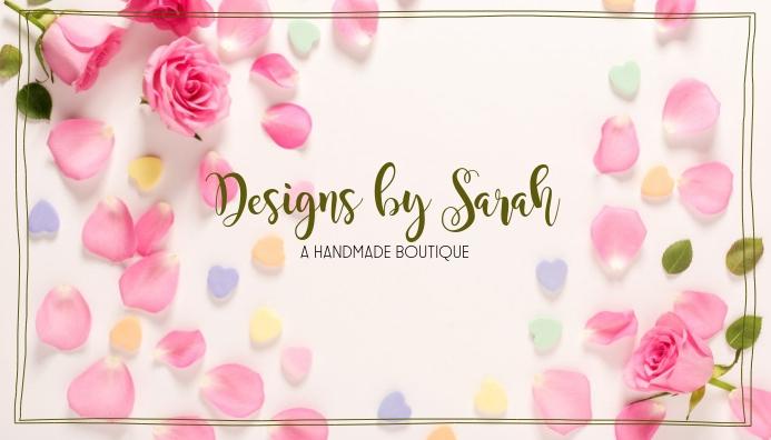 Handmade craft diy Blog Header Template ส่วนหัวบล็อก