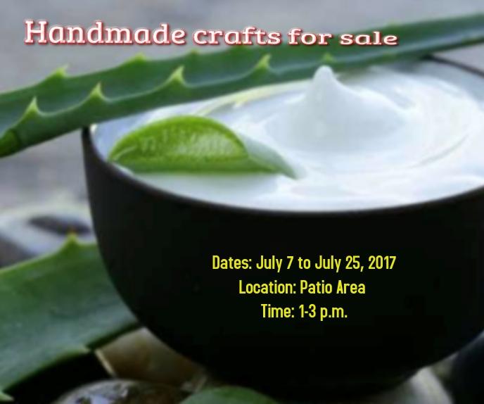 Handmade crafts for sale Großes Rechteck template