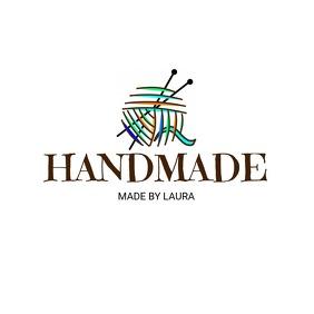 Handmade knitting Logo Design Template